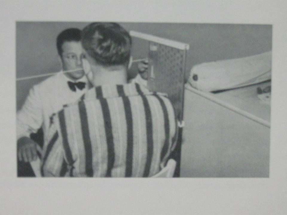 L B. Sandberg D.C measuring for X-ray ca. 1954