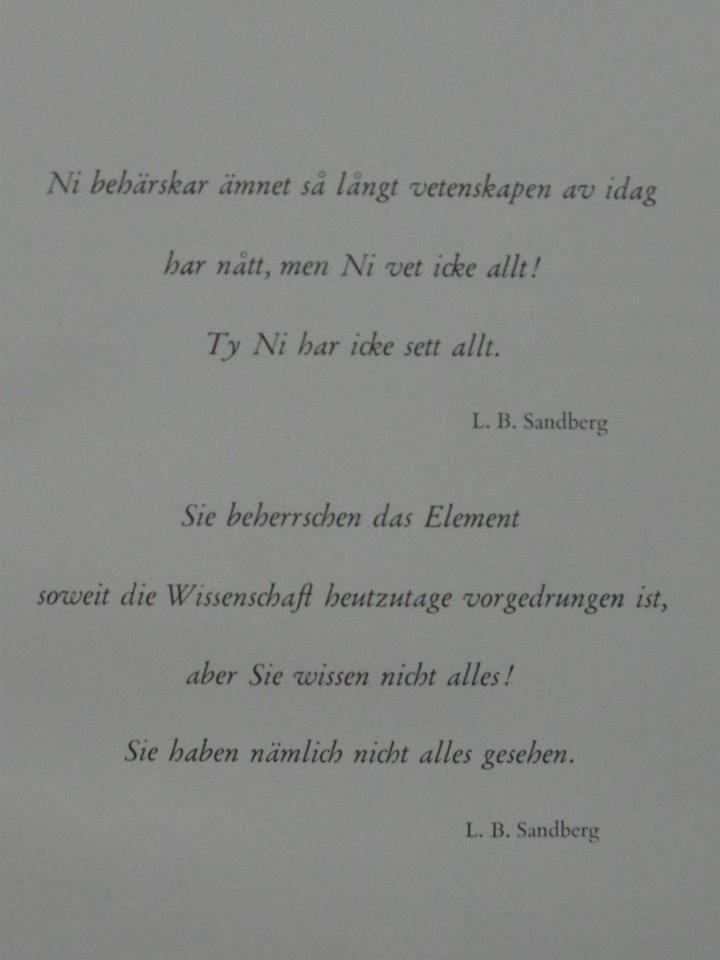 lars sandberg quote